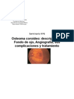 Osteoma coroideo y AFG