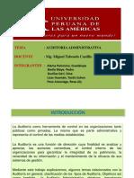 Auditoria Administrativa Ppt 07.09.17