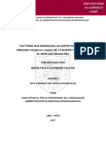 Exportacion de Orégano a Brasil