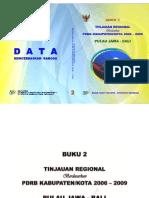 50020 ID Tinjauan Regional Berdasarkan Pdrb Kabupatenkota 2006 2009 Buku 2 Pulau Jawa Bal