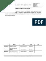 Objeto y Campo de Aplicación SG-SST