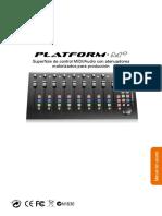 Platform M User Manual Spanish