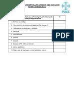 Subproblema 2 - Cuestionario