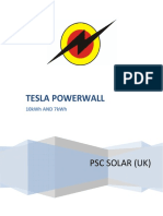 Tesla Power wall