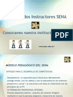 Bienvenidos Instructores SENA 1