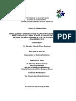 Tesis de Graduacion Dr. Salvador Rivera Especialidad de Medicina Pediatrica