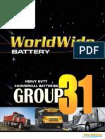 Commercial Heavy Duty Group 31 Brochure