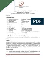 SPA Formulación y Presentación de EEFF 2018-II