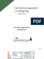 External Internal Approach in Designing