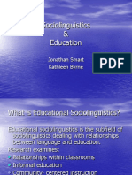 Sociolinguistics _ Education.ppt