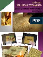Exégesis Del Nuevo Testamento - Lectura Materialista