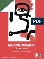 Valdes y Olavarria -Maculinidades Poder y Crisis