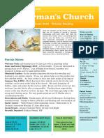 st germans newsletter - 16 june 2019 - trinity sunday
