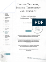 Linking Teachers, Science, Tech, And Research Business and Education Collaborations That Work