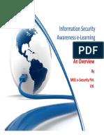 MIEL End User Awareness e Learning Presentation