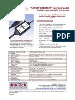 MacTek 010031 Viator USB HART Interface