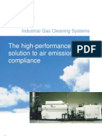 Envitech Industrial Gas Cleaning System Brochure