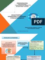Introducción a La Creatividad y Tipos de Pensamientos - PDF