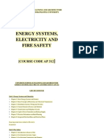 Energy and Fire Safety
