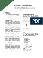 Práctica de laboratorio N°8- Entalpía de fusión del hielo