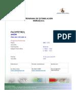 Informacion y Procedimientos Operativos Pozo ANC 1253