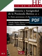 Protohistoria y Antigüedad en La Península Ibérica II