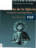 AA.vv. - Historia de La Iglesia IV - Epoca Contemporanea [2002]