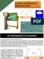 2 Ley de Coulomb e Intensidad de Campo Eléctrico