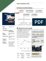 Banco Bradesco Bbi - Relatorio