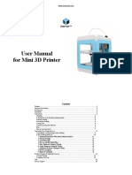 Manual Imprerssora 3D