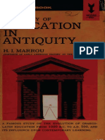 A History of Education in Antiquity