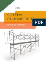 Manual de Montagem Sistema Fachadeiro Ts