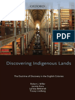 Discovering Indigenous Lands - The Doctrine of Discovery in the English Colonies