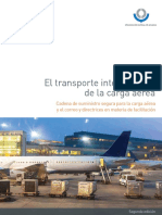 El transporte internacional de la carga aérea