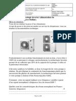 006TDclimatiseurinverterrégulationélectrique