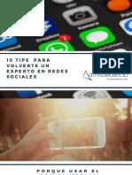 10 Tips Para Volverte Un Experto en Redes Sociales