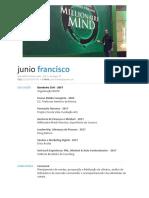 Junio Francisco - CV