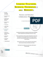Linking Teachers, Science, Tech, And Research Business and Education Collaborations That Work FULL
