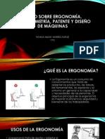 El Uso Sobre Ergonomía, Antropometría, Patente