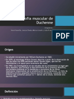 Distrofia Muscular de Duchenne Power Point