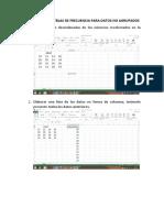 4-Pasos Para Elaboraciòn de Tablas de Frecuencia Para Datos No Agrupados