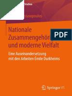 2014_Durkheim_NationaleZusammengehörigkeitUn