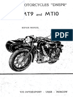 Dnepr Mt9 Mt10 Repair Manual Gb