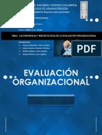 Las Estrategias y Metodologias de La Evaluación Organizacional