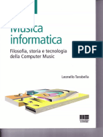 Musica Informatica Indice
