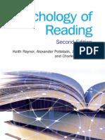 Keith Rayner,Pollatsek, Ashby, Clifton Psychology of Reading