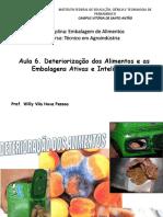 Aula 6. Deteriorização Do Alimento e Embalagens