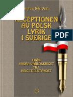 Andrzej Nils Uggla - Receptionen Av Polsk Lyrik i Sverige -Ligatur (2011)