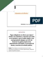 INTRODUCCION DE RENTA Y RENTAS PRESUNTAS