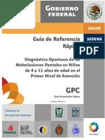 Diagnóstico oportuno de las maloclusiones dentales en niños de 4 a 11 años de edad en el primer nivel de atención GRR.pdf